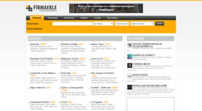 firmaekle.com