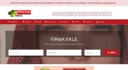 firmaekle.com.tr -