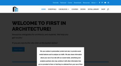 firstinarchitecture.co.uk -
