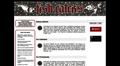 fisheaters.com - fish eaters: the whys and hows of traditional catholicism