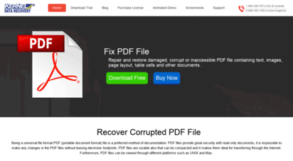 Kernel For Pdf File Repair Tool