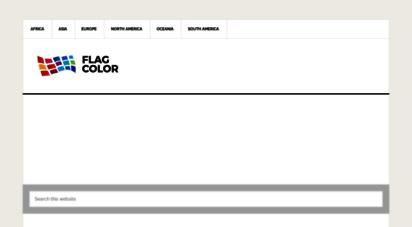flagcolor.com - national flag colors - flag color