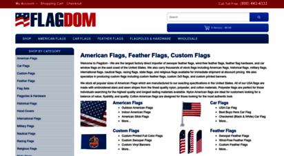 flagdom.com - buy feather flags, american flags, & car flags - flagdom