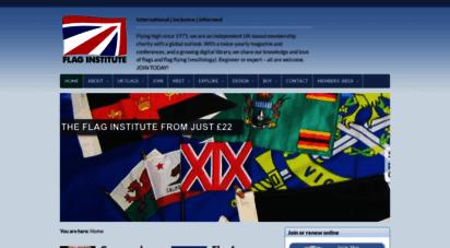 flaginstitute.org - home  the flag institutethe flag institute