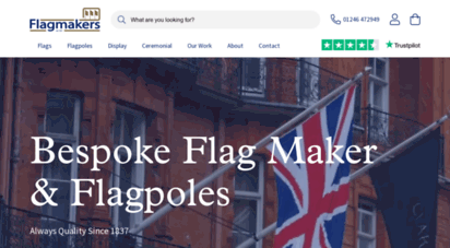 flagmakers.co.uk - flagmakers - traditional flag makers since 1837