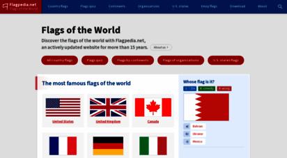 flagpedia.net - flags of the world - flagpedia.net