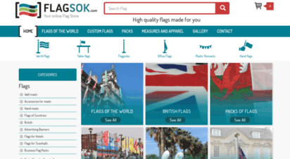 flagsok.com - buy world flags. flags for sale online. online flags store