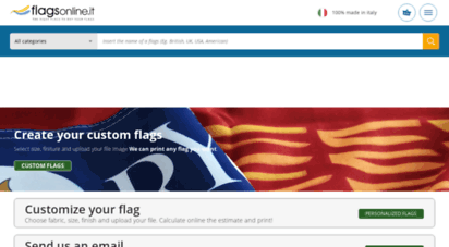 flagsonline.it - flags online the right place to buy flags of the world.