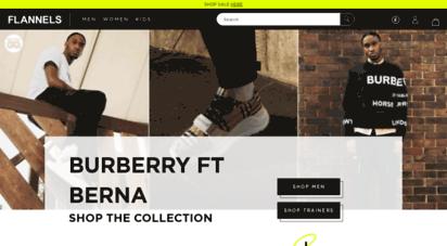 flannels.com - men´s designer, women´s designer & kids´ luxury designer fashion  flannels