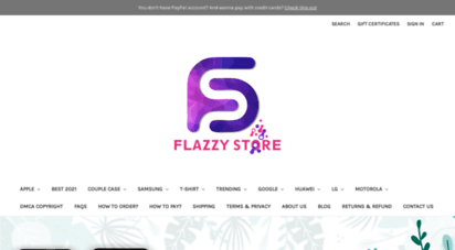 flazzystore.com - flazzy store - online shop for phone cases