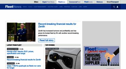 fleetnews.co.uk - fleet management  company car tax  best car reviews  fleet news