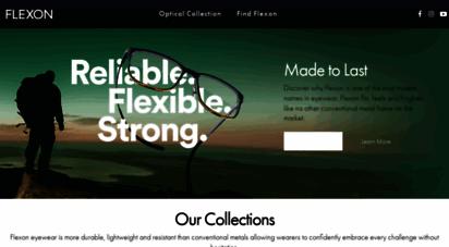 flexon.com - flexon frames  bendable metal eyeglss frames