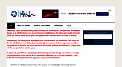 flightliteracy.com - flight literacy - flight training educational materials