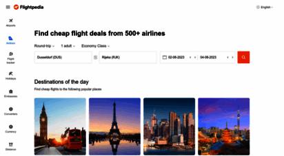 flightpedia.org - cheap flights & airline tickets over the world