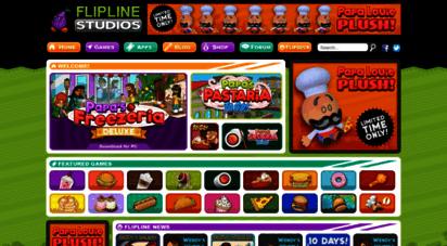 flipline.com - flipline studios : home of free games like papa´s cupcakeria and papa´s donuteria
