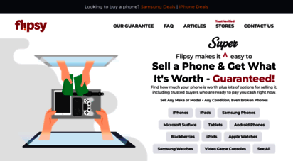 flipsy.com - sell your phone: trusted stores buying phones in all conditions  flipsy