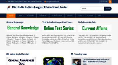 Welcome to Flizzindia com - FlizzIndia India's Largest Educational