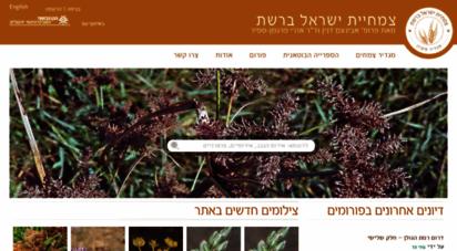 flora.org.il - home  צמחיית ישראל ברשת מאת פרופ´ אבינעם דנין