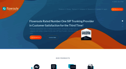 flowroute.com - flowroute - sip trunking, voice, and messaging solutions
