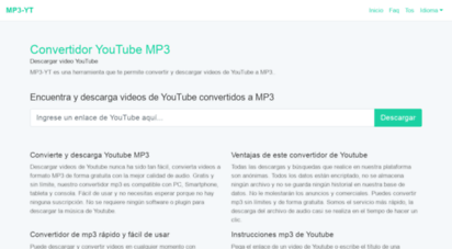 flvto-mp3.com - youtube to mp3 & mp4 converter - simple and in just seconds -