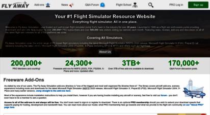 flyawaysimulation.com - fly away simulation - flight sim news, reviews & downloads