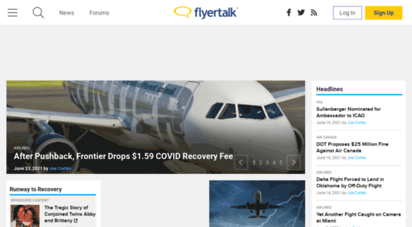 flyertalk.com - flyertalk - the world´s most popular frequent flyer community - flyertalk is a living, growing community  frequent travelers around the world come to exchange knowledge and experiences about everything miles and points related.