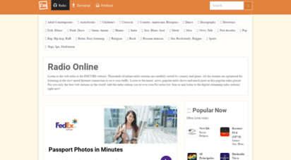 fmcube.net - radio online  listen to thousands of online radio stations