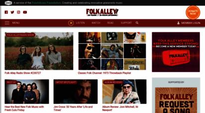 Welcome to Folkalley com - Folk Alley | Folk Music Radio