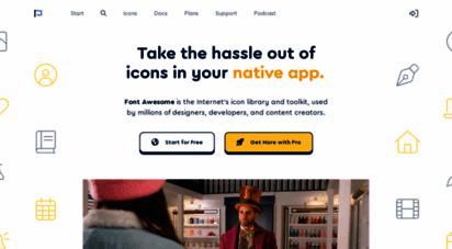 fontawesome.com - font awesome