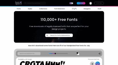 fontspace.com - free fonts  66000 font downloads  fontspace