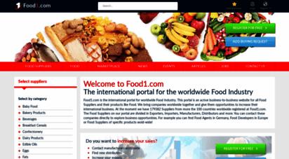 food1.com - food1.com - b2b portal for the food industry