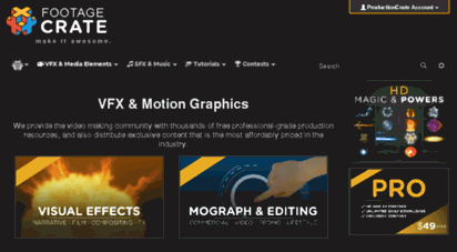 Welcome to Footage productioncrate com - Free Video Effects - HD