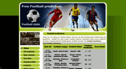 football-stats.org - free football prediction, picks, predictions, tips - football-stats