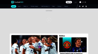 football365.com - football365 - football news, views, gossip and much more....