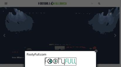 footballfullmatch.com - football full match - watch football replay and shows