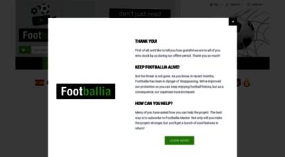 footballia.net - full online historic football matches  footballia