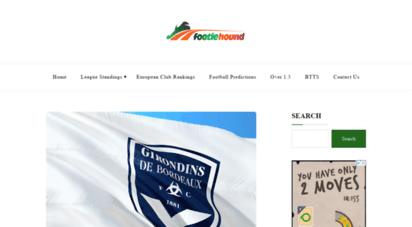 footiehound.com - football news  football prediction site - footiehound blog