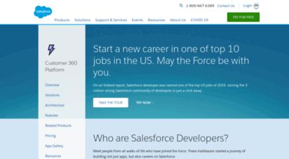 force.com - create business process automation apps - salesforce.com
