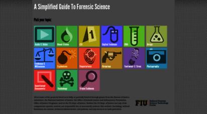 forensicsciencesimplified.org