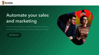 formget.com - online form builder & email marketing software  formget