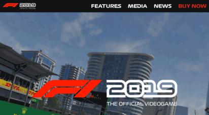 formula1game.com - f1â® 2019