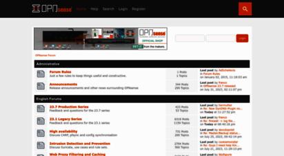 Welcome to Opnsense org - OPNsense® - Open Source Firewall - High