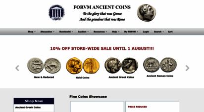forumancientcoins.com - forvm ancient coins shop