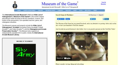 Welcome to Forums klov com - KLOV/VAPS Coin-op Videogame