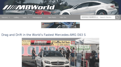 Welcome to Forums mbworld org - Mercedes-Benz Forum, News