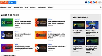 fosslinux.com - foss linux  enhance your linux experience.