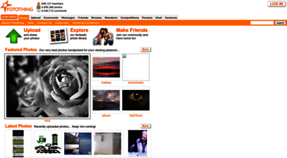 fotothing.com - welcome to fotothing - photo blogging - photo sharing