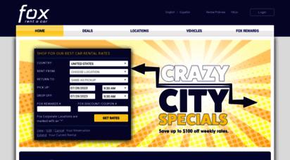 foxrentacar.com -