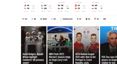 foxsports.com - home - sports news, scores, schedules, and videos  fox sports