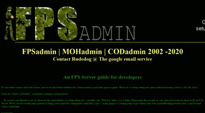 fpsadmin.com - fpsadmin